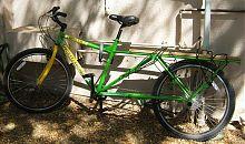 cargo bicycle/coffee bike, Project Rwanda