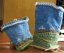 twined socks