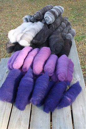 batts from sheeps wool